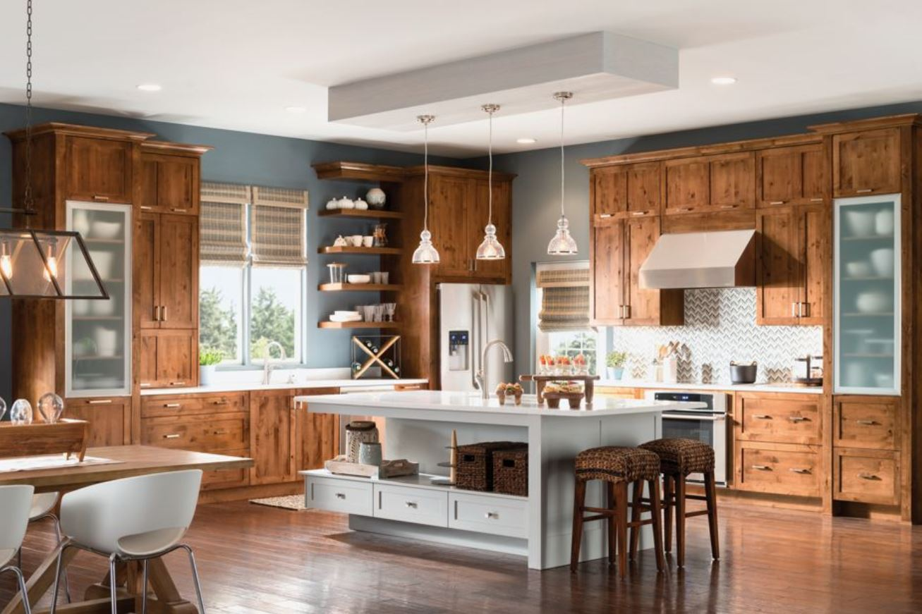 5 Kitchen Inspiration Photos Knotty Alder Cerha Kitchen Bath Design Studio
